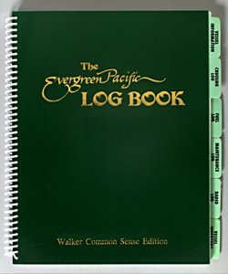Walker Common Sense Log Book